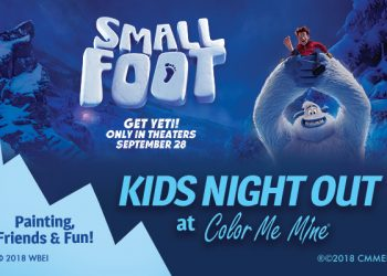 Kids Night Out - Small Foot promo