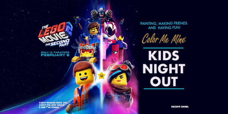 LEGO Movie 2 themed Kids Night Out Events! | Color Me Mine