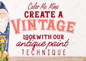 Create a Vintage Look!