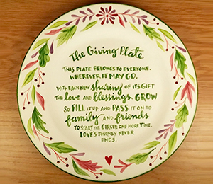 Color Me Mine The Giving Plate