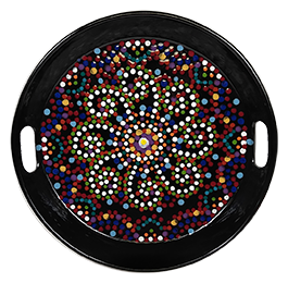 Color Me Mine Mosaic Mandala Tray