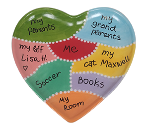Color Me Mine Map Of My Heart