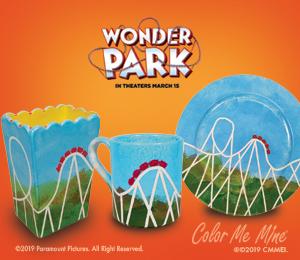 Color Me Mine WonderPark Roller Coaster