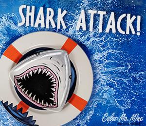 Color Me Mine Shark Attack!