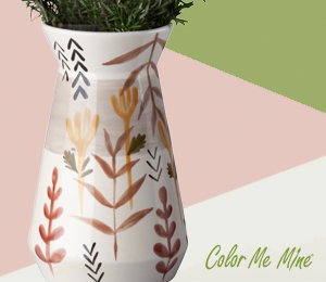 Color Me Mine Minimalist Vase