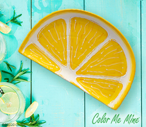 Color Me Mine Lemon Wedge