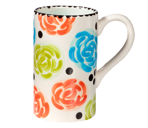 Color Me Mine Simple Floral Mug