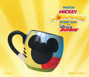 Color Me Mine Mickey's Bubble Mug
