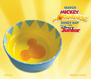 Color Me Mine Mickey's Sunshine Bowl