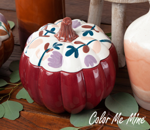 Color Me Mine Fall Pumpkin Box