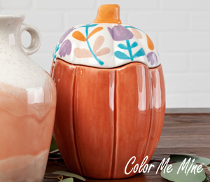 Color Me Mine Tall Pumpkin Box