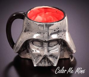 Color Me Mine Darth Vader Mug