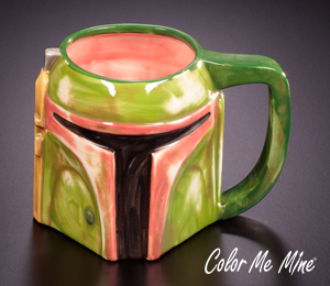 Color Me Mine Boba Fett Mug