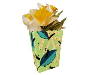 Color Me Mine Leafy Vase