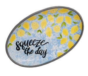 Color Me Mine Lemon Platter