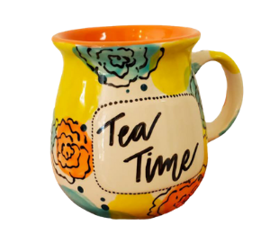 Color Me Mine Tea Time Mug