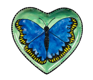Color Me Mine Butterfly Plate