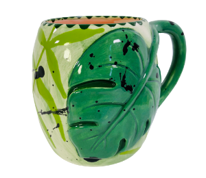 Color Me Mine Monstera Mug