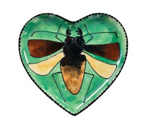 Color Me Mine Titan Beetle Plate